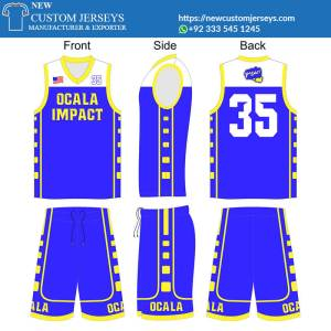 Basketball Jerseys for Teams