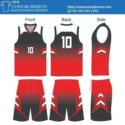 basketball team jerseys