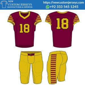 Personalized Football Team Uniforms