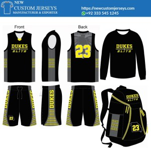 basketball uniform package