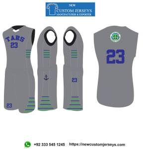 youth reversible basketball jerseys