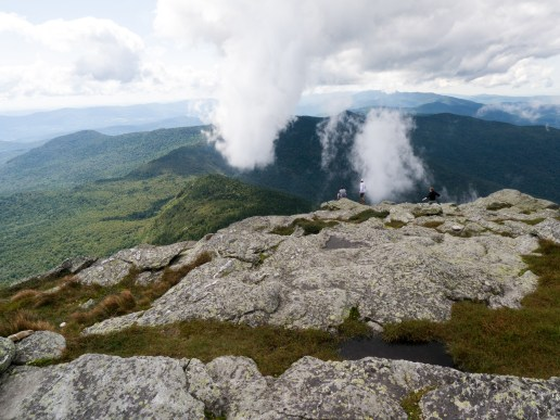 Looking out from Camel's Hump
