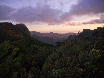 Sunrise at the Pinnacles, Coromandel