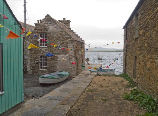 Dancing flags - Stromness, Orkney