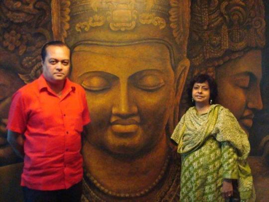 Joygopal, Buddha and Priti