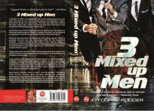 """Front and back cover of """"3 Mixed up Men"""" by Joygopal Podder"""