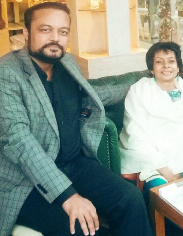 Joygopal and Priti at Cyber Hub