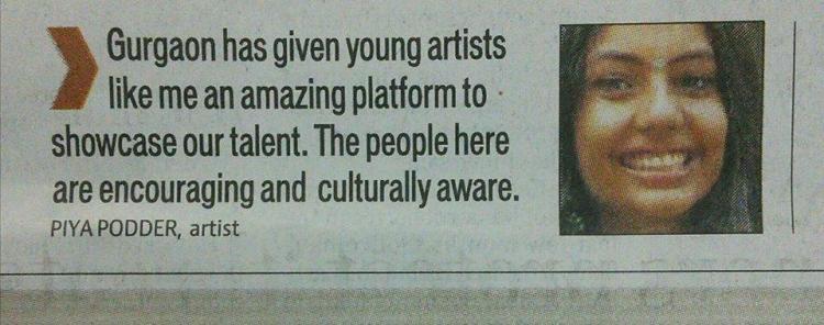 Gurgaon artists Piya Podder