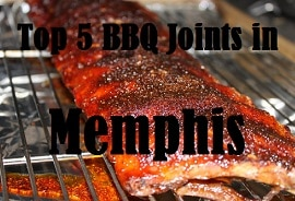 top 5 memphis BBQ rib joints