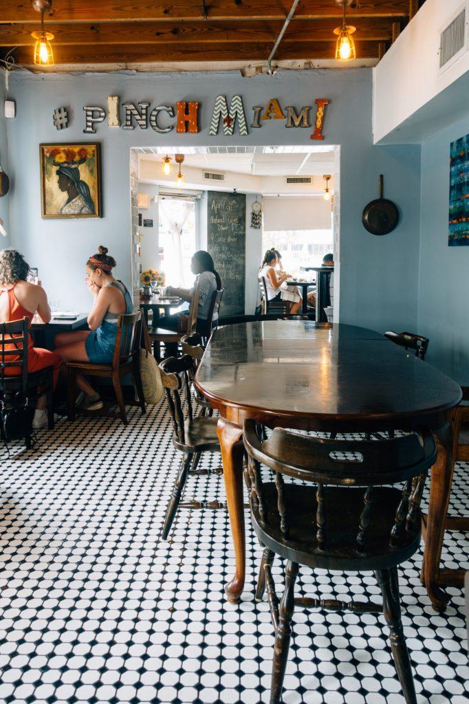 kitchen miami cart on sale best restaurants for foodies el portal little river new interior of pinch restaurant
