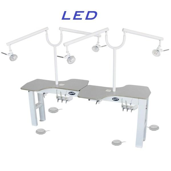 Bancada para Faculdade e Laboratório de Odontologia LED DENTSCLER