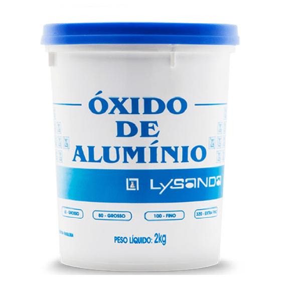 Óxido de Alumínio 60 grãos Grosso