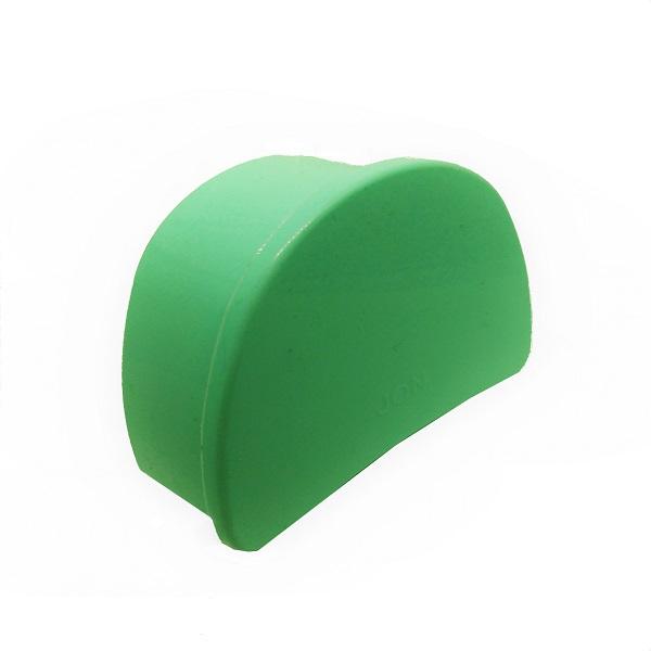 estojo para aparelho ortodôntico verde