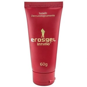 Gel lubrificante Íntimo EROSGEL - Bisnaga 60G - cx c/35 unid.