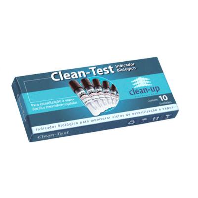 Teste Indicador Biológico Clean-Test - Clean Up