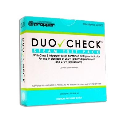Pacote Desafio Duo-Check pacote pronto + Indicador Biológico + Integrador Químico - Clean Up