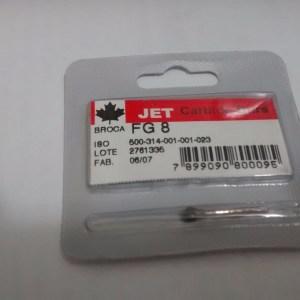 Broca Carbide FG N.8 - Jet