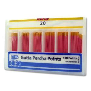 Guta Percha Calibrada N 20 C/120 - Meta