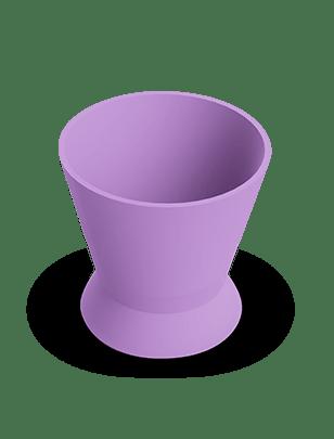Pote Dappen Silicone Lilás- Indusbello