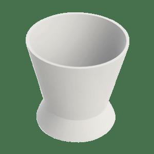 Pote Dappen Silicone Pequeno Transparente - Indusbello