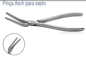 Pinça Asch para Septo -Harte