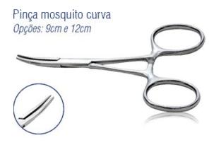 Pinça Mosquito Curva 9cm -Harte