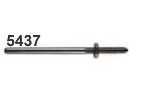 Mandril em Aço Inox Nº5437- Dedeco