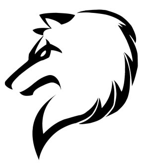 drawings wolf tribal draw cool designs easy drawing wolves patterns newdesignfile via batman