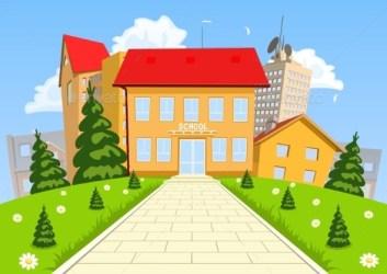 cartoon building modern vector backgrounds illustration background office graphicriver preschool clip comic business via