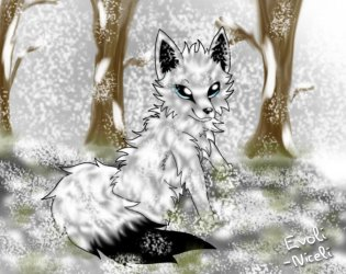 arctic cute wolf snow drawings icon simple evoli wolves baby animated newdesignfile icons deviantart via animal