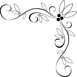 designs border corner borders drawing fancy cool easy draw patterns fall leaf newdesignfile via