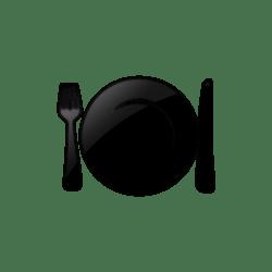 plate icon food dinner transparent quick restaurants newdesignfile clip drawing restaurant getdrawings healthy seder beverage restaurantes