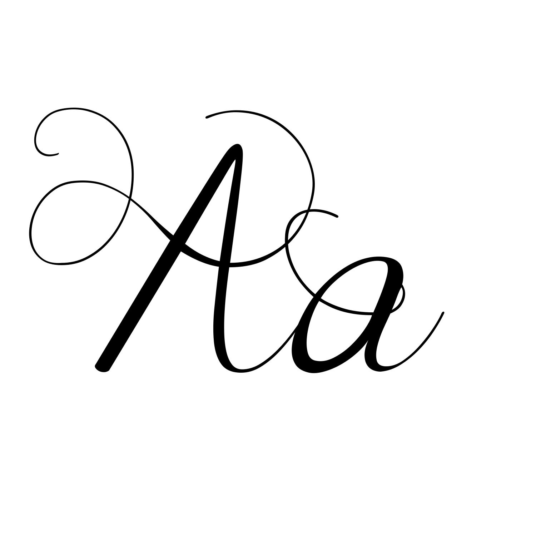 Calligraphy Number Font Generator