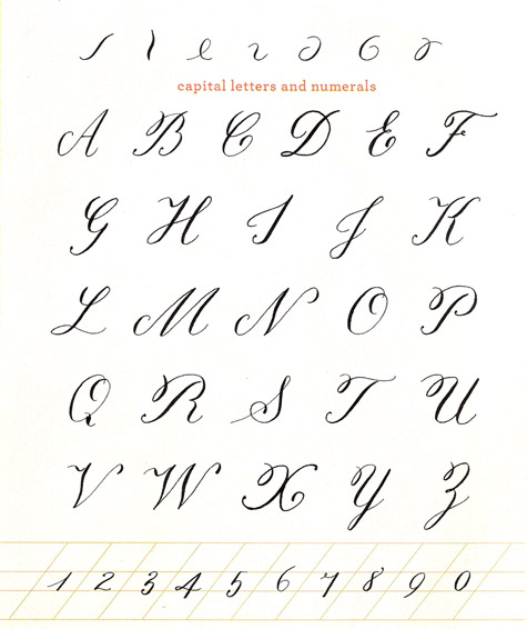 13 New Calligraphy Fonts Alphabet Printable Images  Printable Calligraphy Fonts, Free