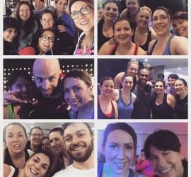 sweaty exercise selfies
