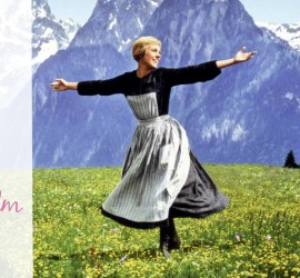 Julie Andrews dancing in the hills