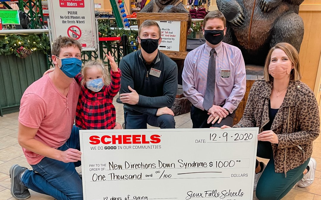 Scheels 12 Days of Giving