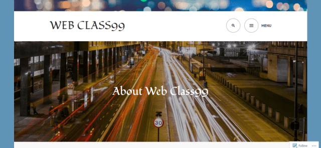A screenshot from the site 'Web Class99.' April, 2017.