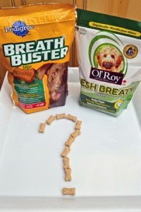 Two Dog Breath Freshener Biscuits