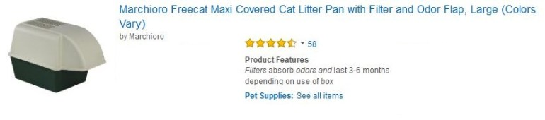 Marchioro Freecat Maxi Covered Cat Litter Pan