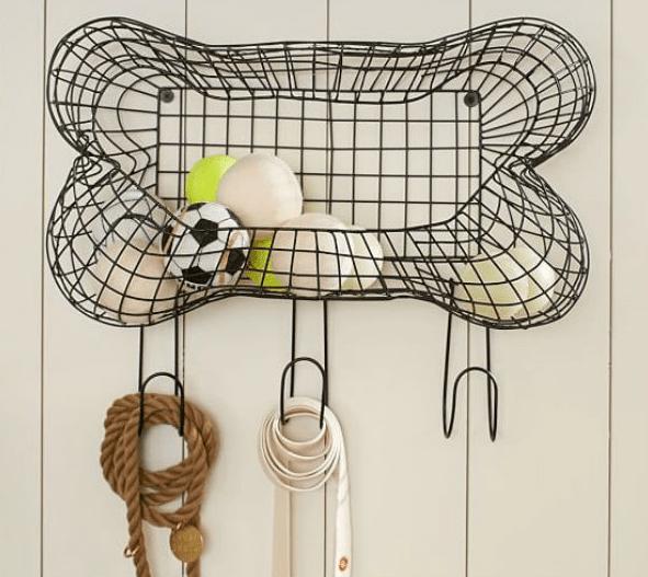 hanging dog toy box