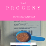 Product Review:  PROGENY BB Dog Breeding Supplement