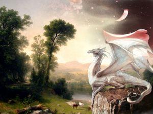 white dragon reiki attunement