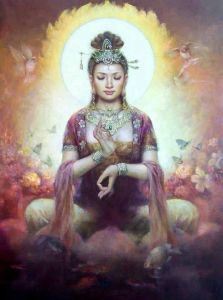 Compassion and gifts of the Goddess Kuan Yin