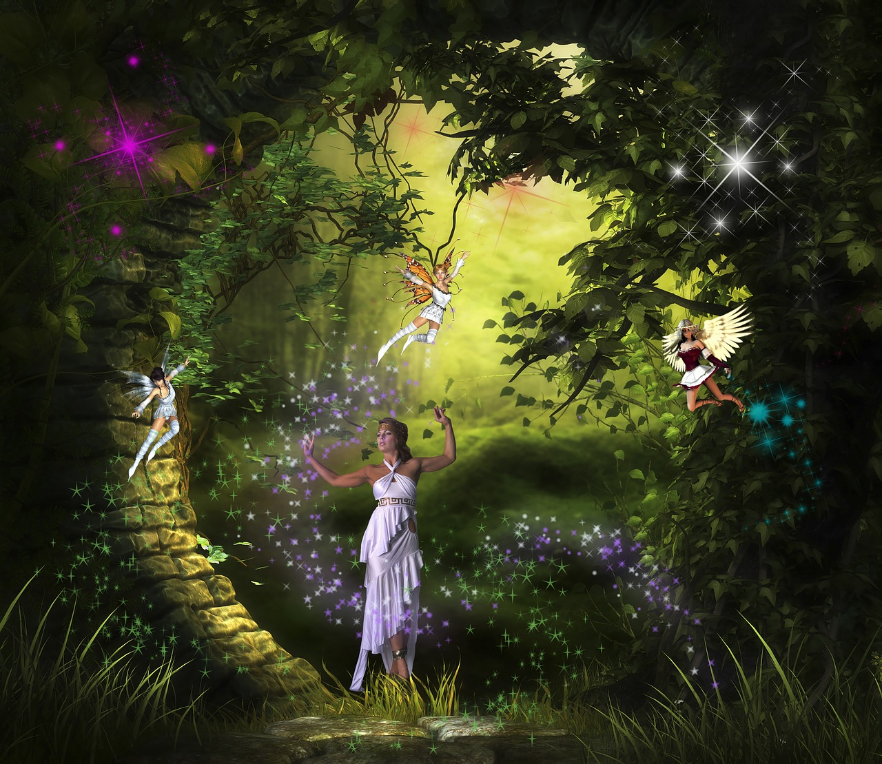 Fairy LightWorker Program