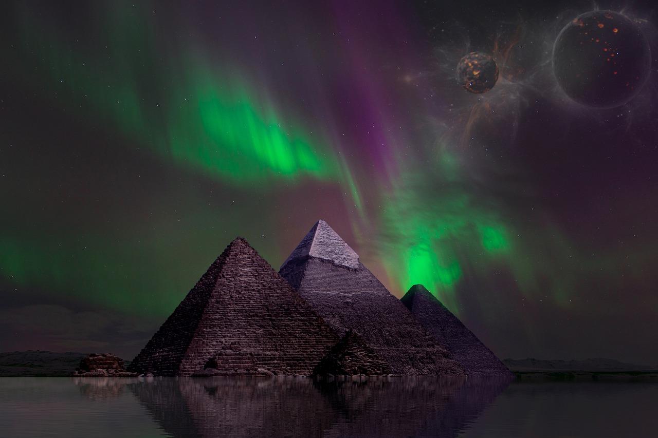 Winged Pyramid Healing Reiki