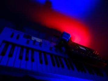 Waldorf Blofeld (instrument) + Elektron Octatrack (Instrumentalities)