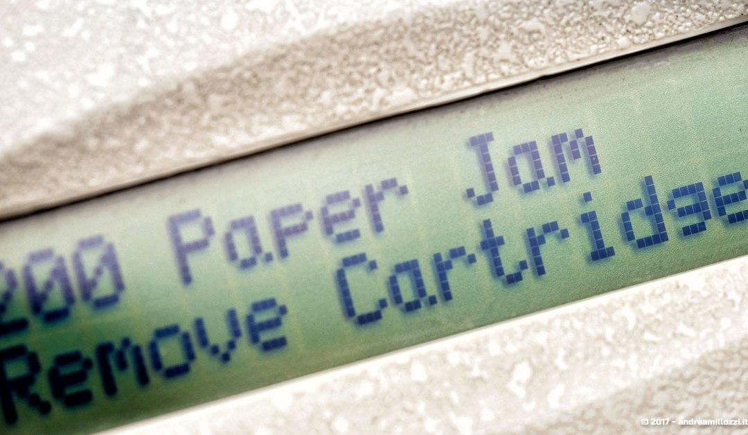 no paper stampante etichette