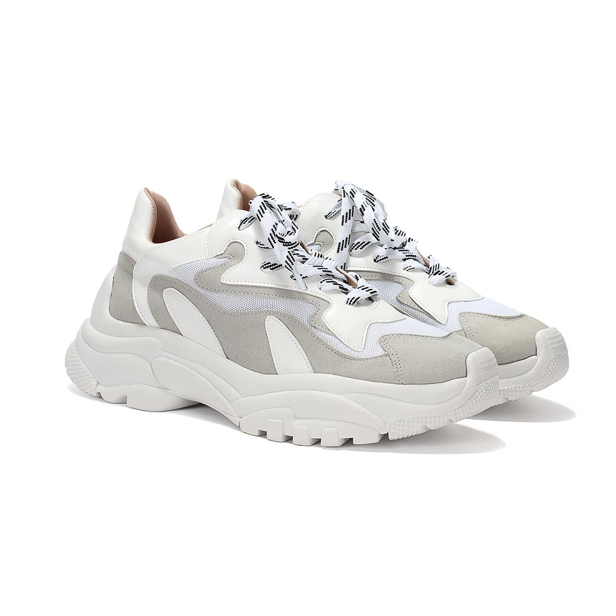 Chunky Sneakers ZATZ Branco com Cinza