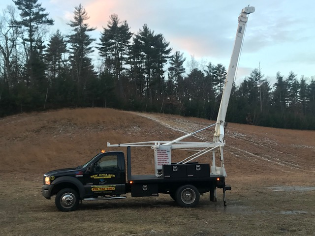 Water Crane Truck
